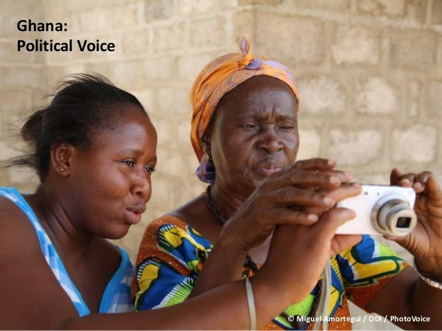 Ghana: Political Voice © Miguel Amortegui / ODI / PhotoVoice