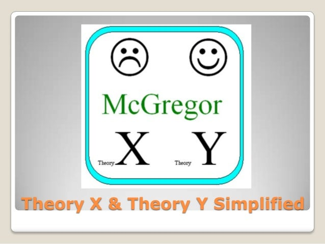 Theory X & Theory Y Simplified