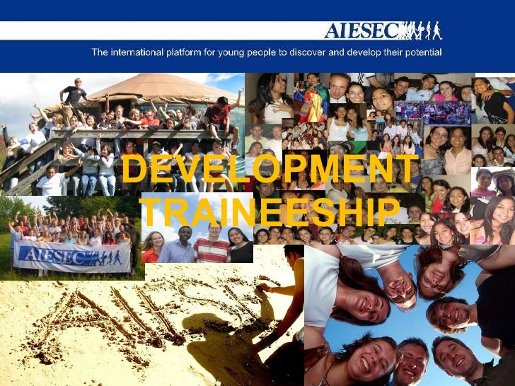 DEVELOPMENT TRAINEESHIP