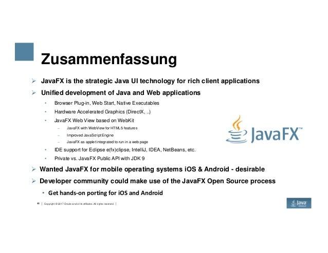 Development with JavaFX 9 in JDK 9.0.1