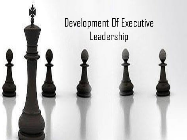 Development Of Executive Leadership