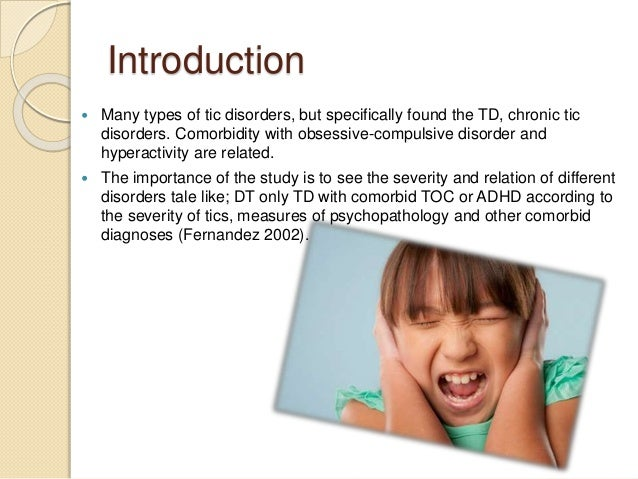 The Development Of Tourette Syndrome In Children