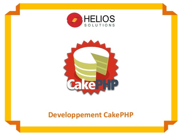 Developpement CakePHP