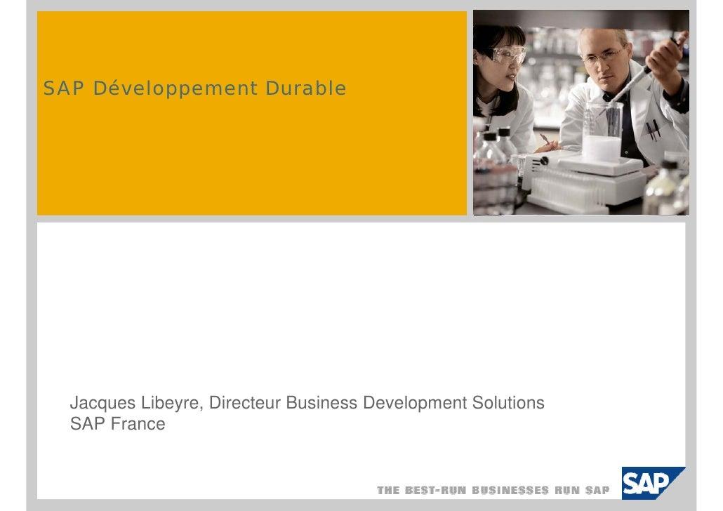 t SAP Développement Durable                                     inser ific                                                ...