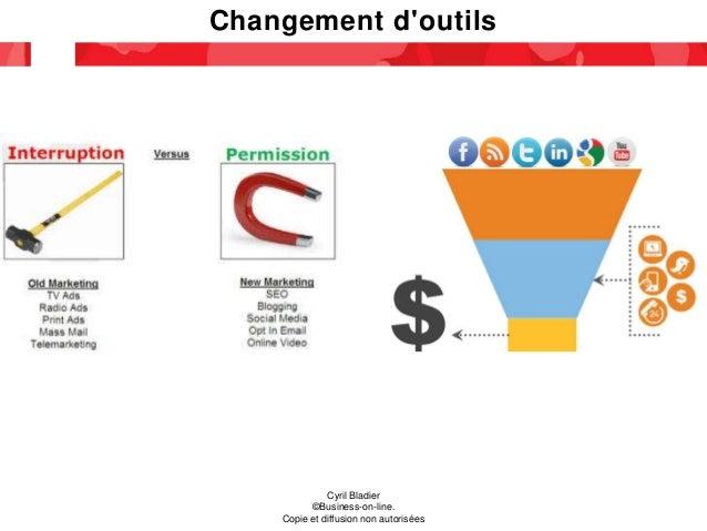 Changement d'outils Cyril Bladier ©Business-on-line. Copie et diffusion non autorisées