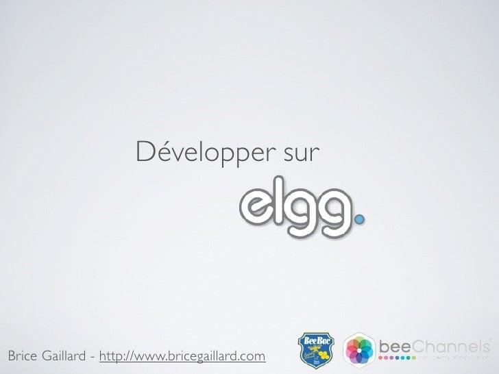 Développer sur     Brice Gaillard - http://www.bricegaillard.com