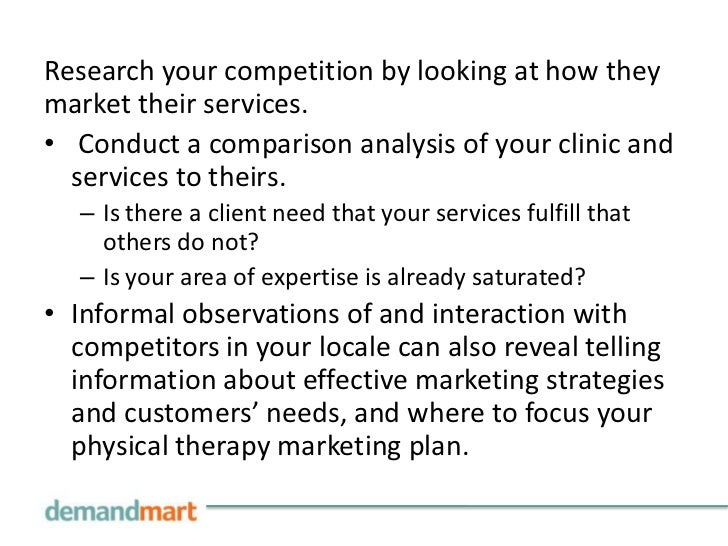 why your healthcare practice needs a marketing plan essay Why your healthcare practice needs a marketing plan a marketing plan is a written document that is designed to advertise or market a product or service marketing plans are an integrative process of listening to customers and developing strategies and objectives that meet their needs, conform to the policies of the organization, and are .