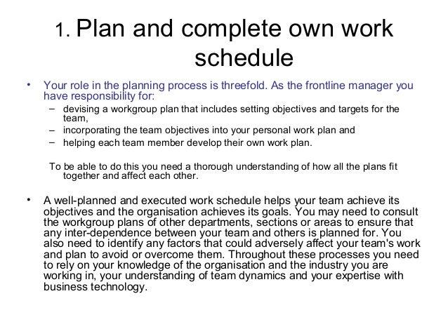 devising a business plan