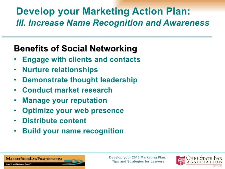 Developing a marketing plan – The first steps