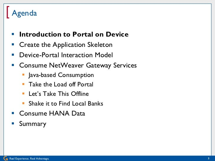 Develop Your First Mobile Application with Portal on Device