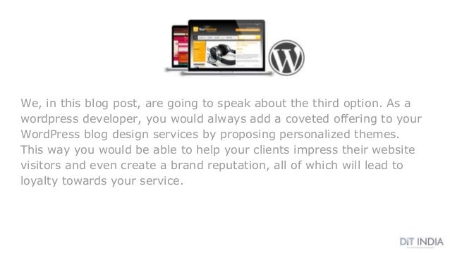 We, in this blog post, are going to speak about the third option. As a wordpress developer, you would always add a coveted...
