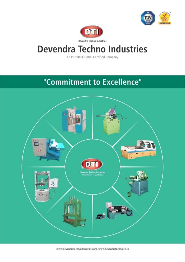 Devendra Techno Industries, Dewas, Industrial Automation Systems and Special Purpose Machines