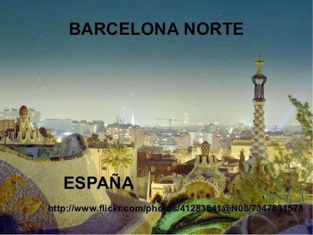 BARCELONA NORTE   ESPAÑAhttp://www.flickr.com/photos/41283841@N08/7347831578