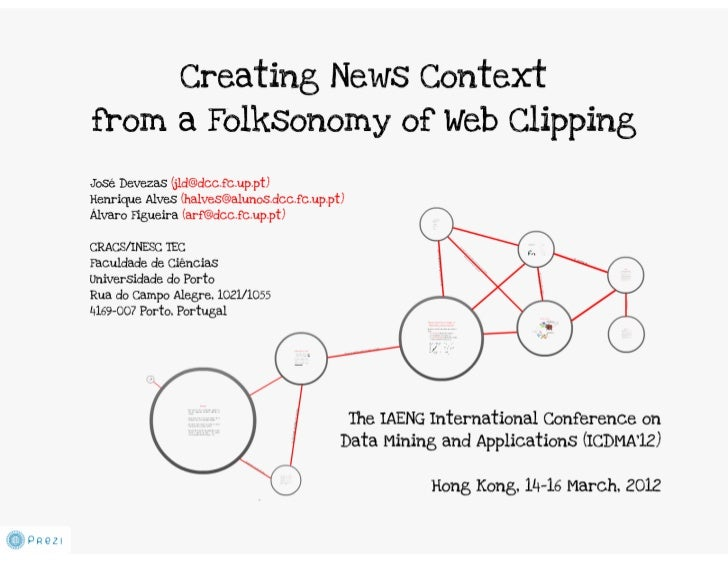 Creating News Context From a Folksonomy of Web Clipping