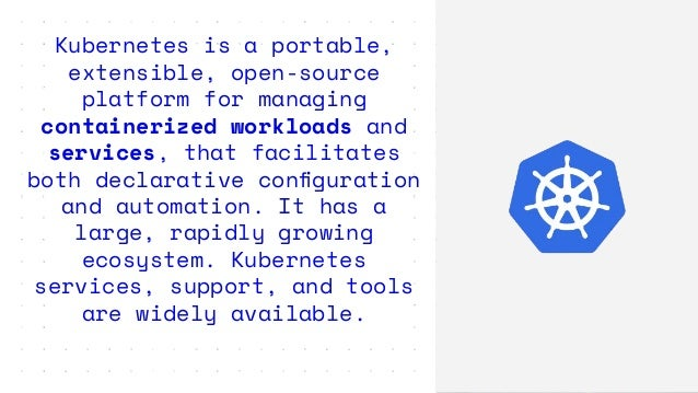 Skaffold handles the workflow for building, pushing and deploying your application, allowing you to focus on what matters m...