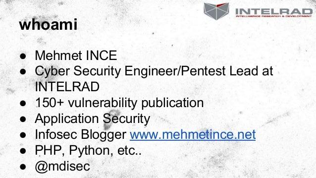 Devfest istanbul'14  - Web Application Attacks and Trusting Frameworks Slide 2
