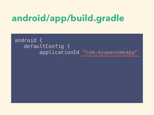 • • • applicationId •