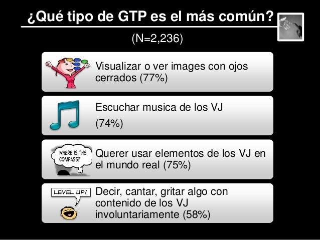 Conjunción de factores parte de los VJ que son relevantes para GTP