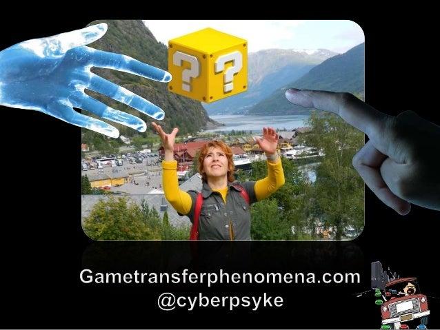 Game Transfer Phenomena: Características del juego asociadas con alucinaciones, pensamientos y comportamientos