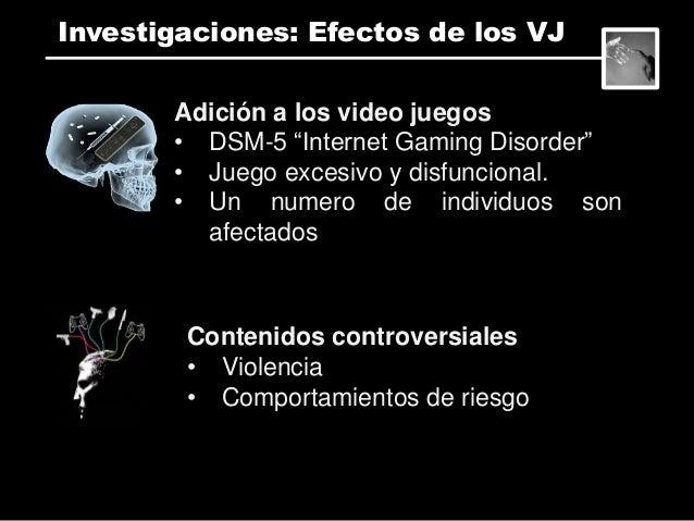 Efectos psico-fisiológicos • Simuladores • VR headsets • Ambientes altamente imersivos • Ej. Motion sickness Investigacion...