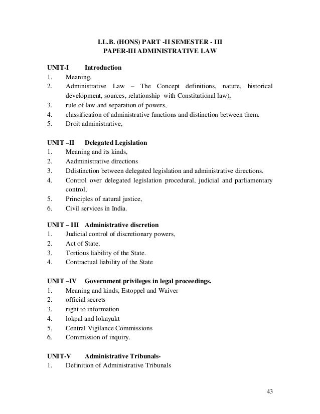 judicial control over administrative discretion in South african administrative law is the branch of public law in that country which regulates the legal relations of public authorities, whether with private individuals and organisations or with other public authorities, or better say, in present-day south africa, which regulates the activities of bodies that exercise public powers or perform public functions, irrespective of whether those.