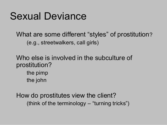 What Is Sexual Deviancy