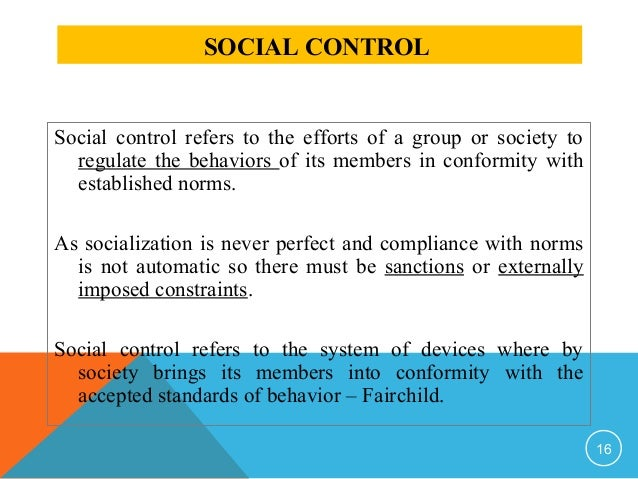 deviance social control essay topics This paper will analyze aspects of social control theory and social bonds, for the purpose of seeing if they can deter deviant behavior these questions focused on attachment to the family, belief in conventional values, and religious involvement/commitment (bouffard and petkovsek, 2013, p 8) from the.
