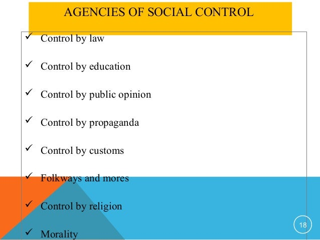 deviance crimes and social conrol Essay deviance and social control the claim that it is social controls that prevent us from committing crimes by looking at different social control.