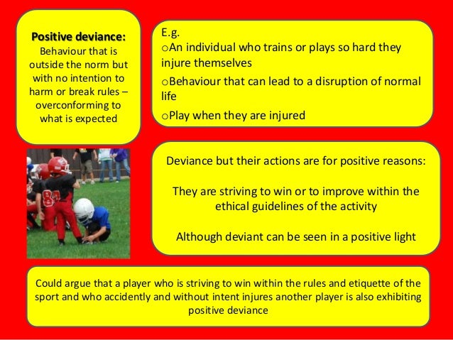 Changing the Culture of Sports Deviance