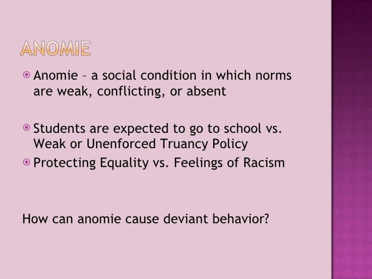 Compose a cause/effect essay on the causes of deviant behavior