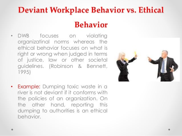 social deviant behavior essays