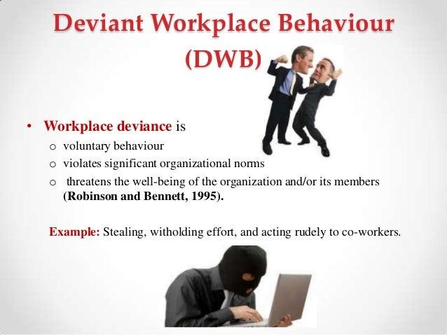 deviant workplace behavior pdf