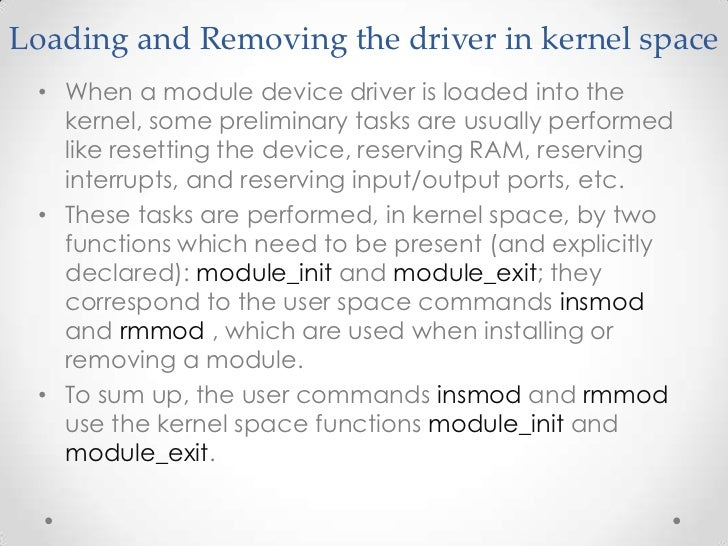 PDI Kernel Ports Device Driver Drivers
