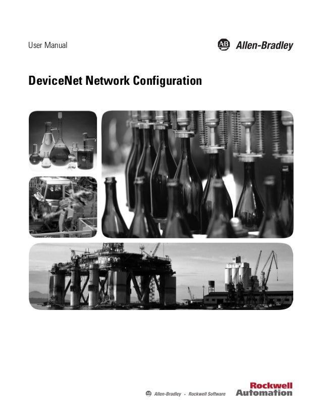 User ManualDeviceNet Network Configuration