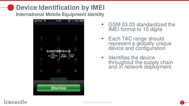 National Mobile Device Registration