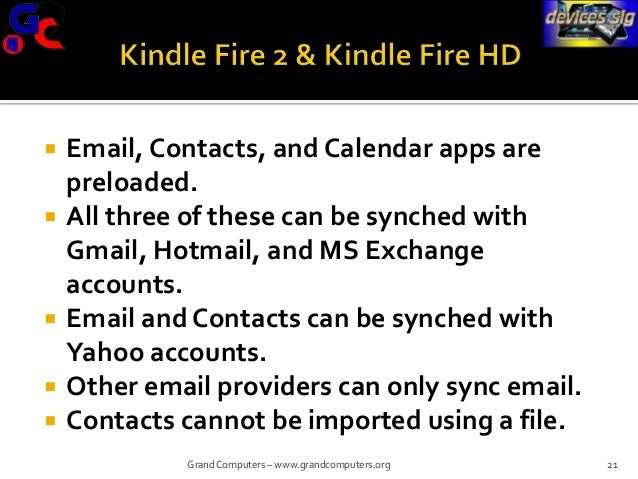 How to Sync Devices (iPhone/iPad, Android, Kindle)