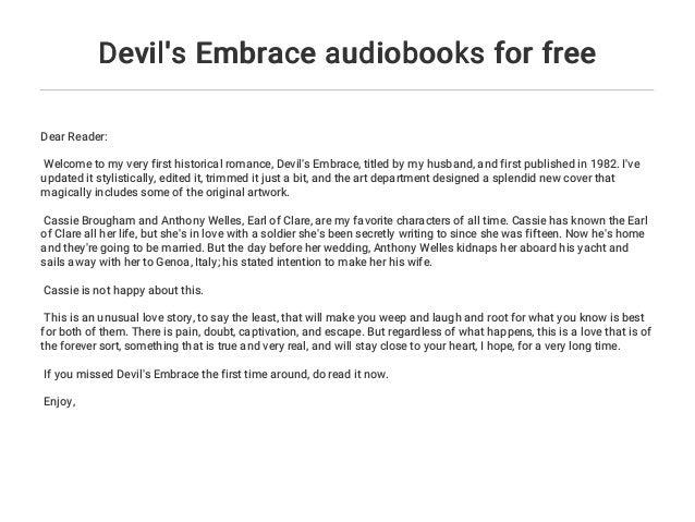Devil's Embrace audiobooks for free