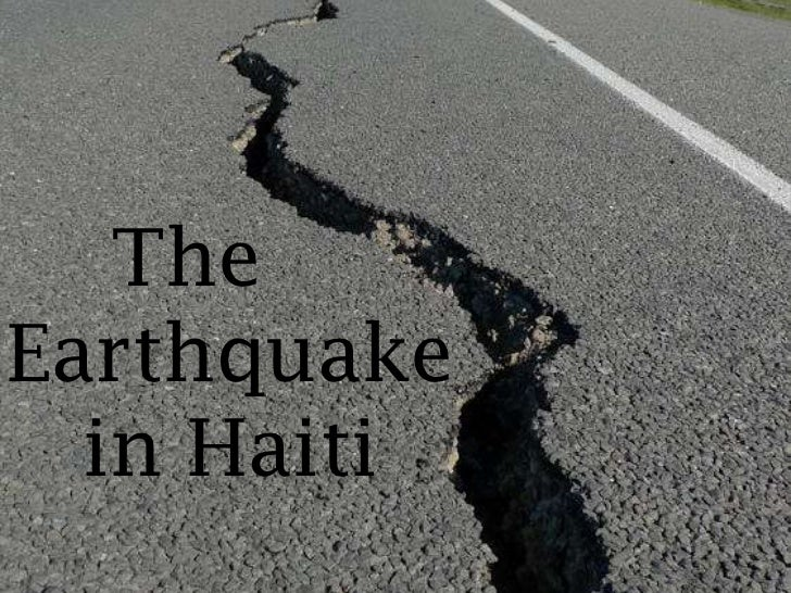TheEarthquake  in Haiti