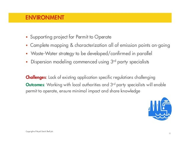 ENVIRONMENT   Supporting project for Permit to Operate   Complete mapping & characterization all of emission points on-g...