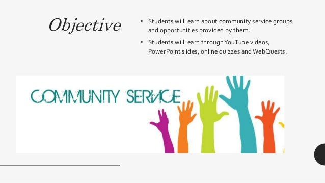 Community Service Projects 55910844 on Learning Money Websites