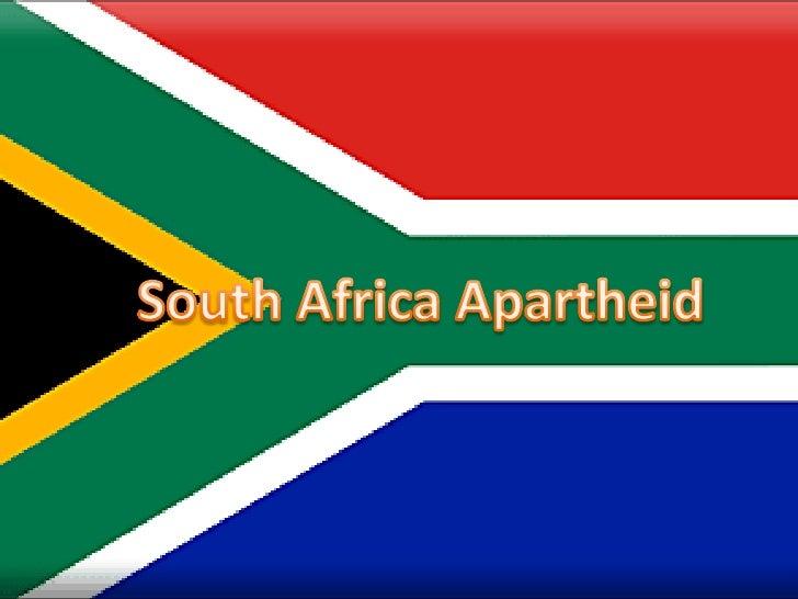 South Africa Apartheid<br />
