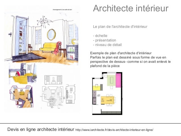 Amazing architecte intrieur le plan with plan architecte for Plan architecte en ligne gratuit
