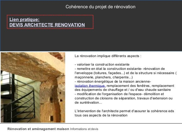 Prix rnovation maison ancienne cout renovation lourde for Cout travaux renovation au m2