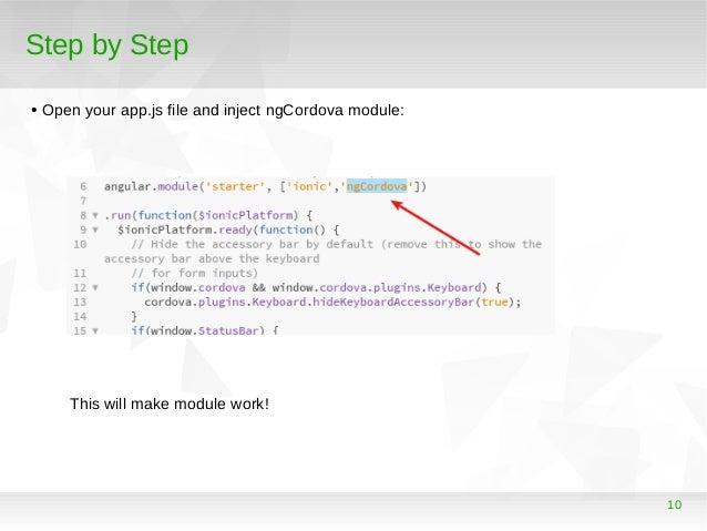 Desenvolvendo uma aplicação híbrida para Android e IOs utilizando Ion…