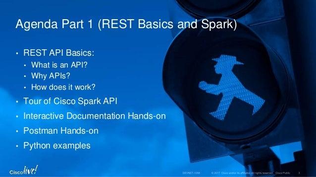 DevNet 1056 WIT Spark API and Chat Bot Workshop Slide 3