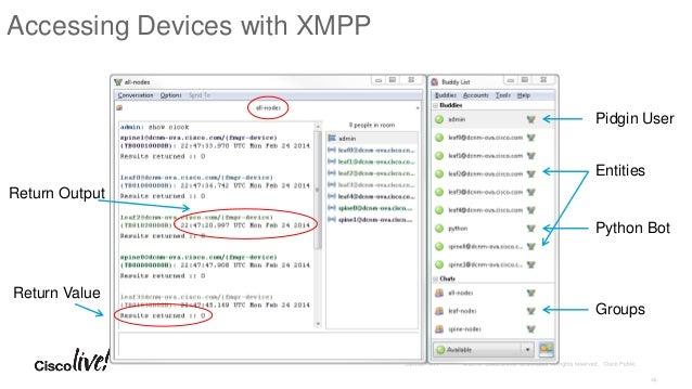 Xmpp group chat client