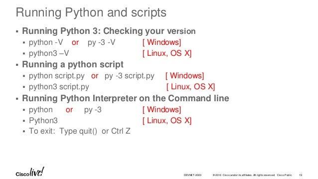 Coding 102: REST API Basics using APIC-EM
