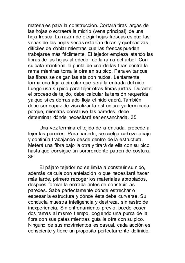 Devoción entre los animales. spanish. español docx
