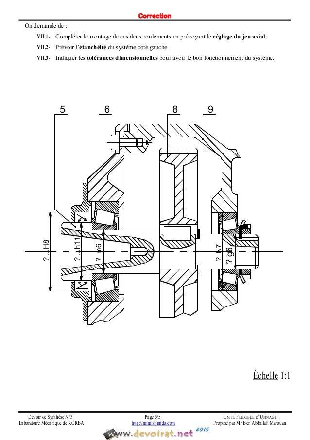 Devoir+corrigé+de+synthèse+n°3+ +génie+mécanique+unité