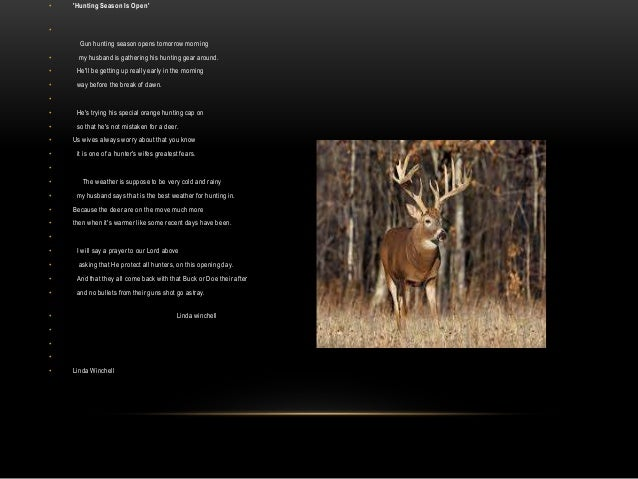 Poems About Hunting 1